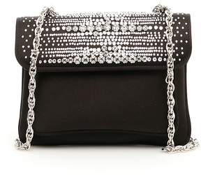 Rodo Swarovski Satin Mini Bag