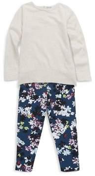 Splendid Little Girl's Two-Piece Long-Sleeve Tee and Pants Set