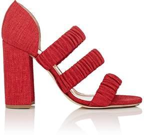 Chloé Gosselin Women's Delphinium Raffia Sandals