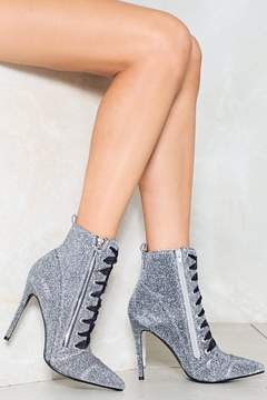 Nasty Gal nastygal Let the Music Play Glitter Bootie