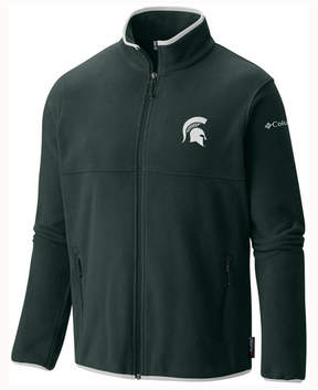 Columbia Men's Michigan State Spartans Fuller Ridge Fleece Jacket