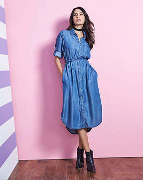 denim dresses for autumn popsugar fashion uk