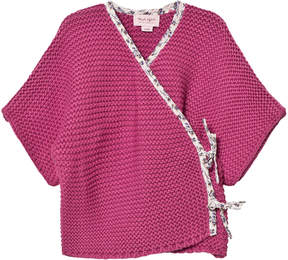 Mini A Ture Noa Noa Miniature Violet Short Sleeve Cardigan