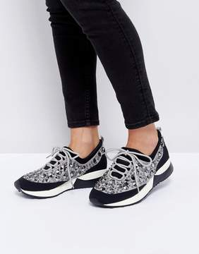 Dune London Embellished Sneakers