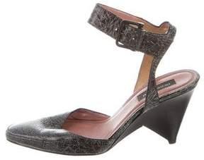 Derek Lam Leather Ankle Strap Pumps
