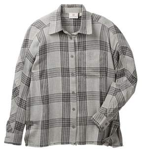 AG Jeans Joelle Plaid Print Woven Shirt (Big Girls)