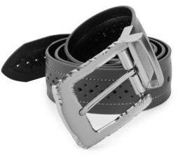 Robert Graham Detailed Reversible Leather Belt