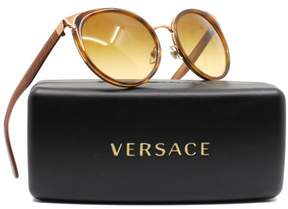 Versace VE2185 14122L Havana Cat Eye Sunglasses