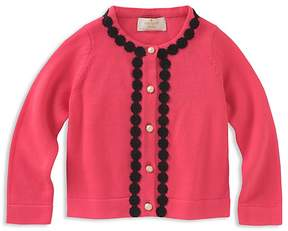 Kate Spade Girls' Lace-Trimmed Cardigan - Baby