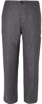 Oliver Spencer Judo Tapered Mélange Brushed-Wool Trousers