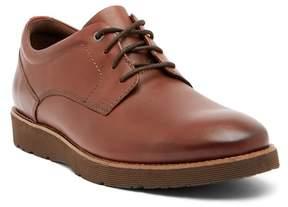 Clarks Folcroft Plain Toe Leather Derby