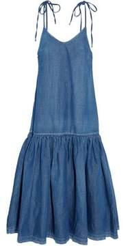 Co Denim Midi Dress