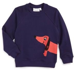 Mini Rodini Toddler Boy's Dog Sweatshirt