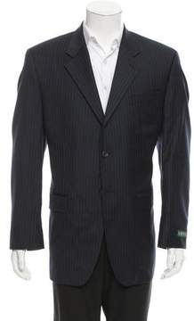 Lauren Ralph Lauren Striped Wool Blazer