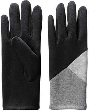 Joe Fresh Women's Colour Block Gloves, Black (Size O/S)