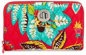 Vera Bradley RFID Turnlock Wallet - RUMBA - STYLE