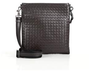 Bottega Veneta Borsa Intrecciato Leather Crossbody Bag