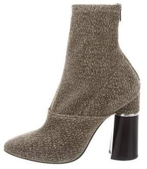 3.1 Phillip Lim Metallic Ankle Boots
