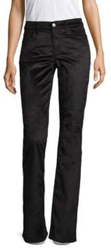 7 For All Mankind Ali Flare Velvet Pants
