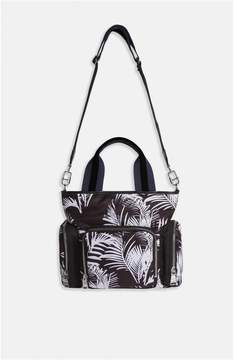Sonia Rykiel | Forever Nylon Palm Print North-South Bag