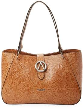 Mario Valentino Valentino by Women's Charlotte Flower Leather Tote Bag