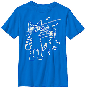 Fifth Sun Royal Hip Cat Tee - Youth