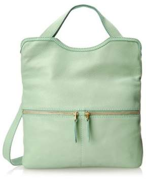 Fossil Erin Tote Cross Body Bag, Winter Green, ZB5462331