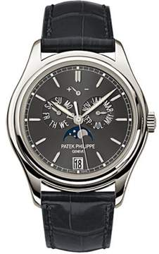 Patek Philippe Complications Moonphase 5146P-001 Platinum Automatic Mens 39mm Watch