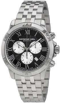 Raymond Weil Tango Black Dial Men's Chronograph Watch