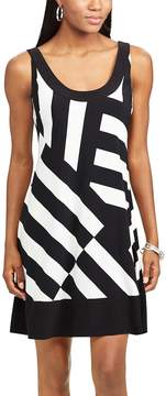 Chaps Women's Striped A-Line Dress