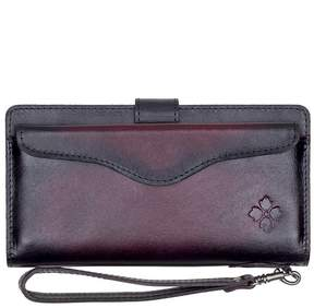 Patricia Nash Stained Veg Tan Collection Valentia Wristlet