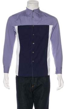 Opening Ceremony Colorblock Woven Shirt