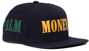 Palm Angels Slogan print baseball cap