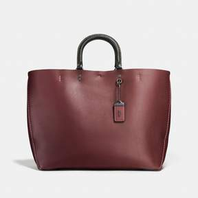 COACH Coach Rogue Tote - BORDEAUX/BLACK COPPER - STYLE