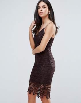 AX Paris Lace Midi Bodycon Dress
