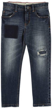 Little Marc Jacobs Cool Effects Denim Trousers, Size 4-5