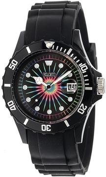 Crayo Shrine Collection CRACR3002 Unisex Watch with Silicone Strap