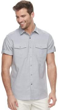 Apt. 9 Men's Premier Flex Slim-Fit Stretch Textured Woven Button-Down Shirt