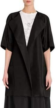Jil Sander Damasco Silk Faille Jacket