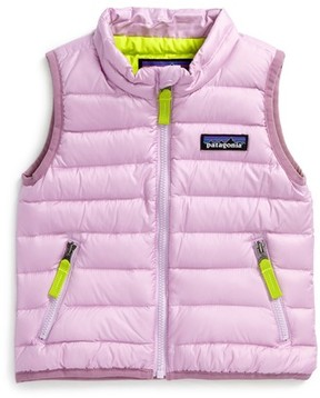 Patagonia Infant Girl's Water Repellent Down Sweater Vest