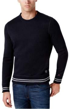 Tommy Hilfiger Mens Knit Pullover Sweater Blue 2XL