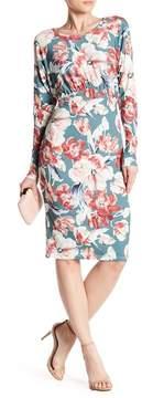 Alexia Admor Long Sleeve Sheath Dress