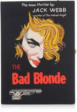 Olympia Le-Tan Olympia Le Tan The Bad Blonde Strapped Book Clutch