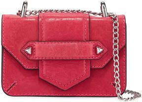 Botkier Casey Leather Chain Crossbody Bag (Silvertone Hardware)