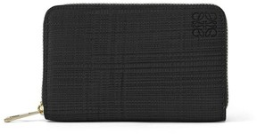Loewe Zip Card Holder Black