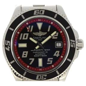 Breitling SuperOcean silver watch