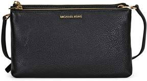Michael Kors Adele Double Zip Crossbody - Black - ONE COLOR - STYLE