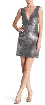 Bardot Sequin A-Line Dress