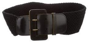 3.1 Phillip Lim Woven Buckle Belt