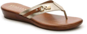 Italian Shoemakers Women's Lock Wedge Sandal